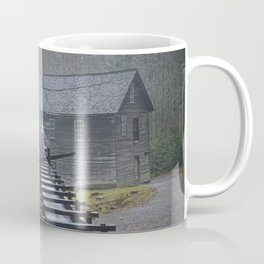 The Old Mingus Mill and Flume in the Great Smoky Mountain National Park in Tennessee Coffee Mug