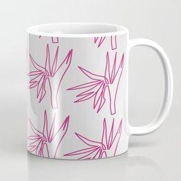 Design exotic  flowers pink Coffee Mug