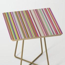 Stripes & stripes Side Table