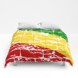Rastafari Flag Comforters