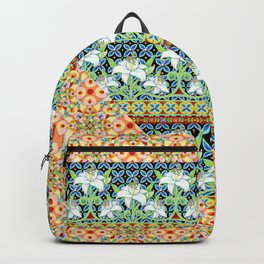 Tangerine Confetti Lilies Backpack
