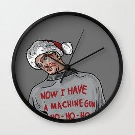 Tony (The Dead Guy In The Elevator In Die Hard) Wall Clock