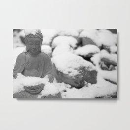 Buddha in Himalaya Metal Print