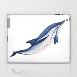Striped baby dolphin Laptop & iPad Skin