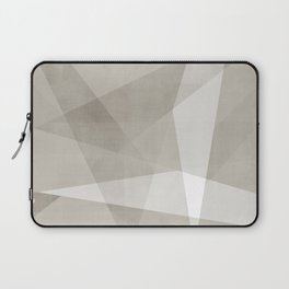 Desert Shadow No. 2    Abstract in Neutrals Laptop Sleeve
