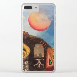 Journey of the Psyche Clear iPhone Case