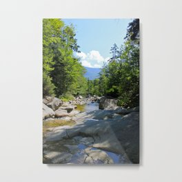 Cascade Brook Metal Print