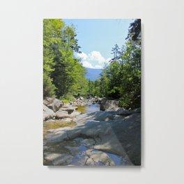Cascade Brook Metal Print