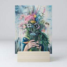 The Last Flowers Mini Art Print