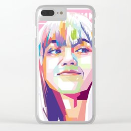 Lisa Blackpink Clear iPhone Case