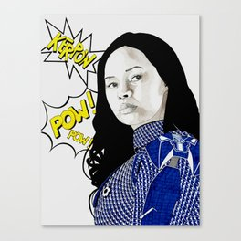 Frankie Adams Canvas Print