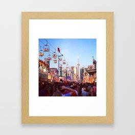 CNE Toronto Framed Art Print
