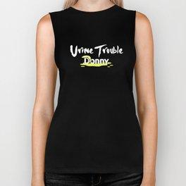 Funny Anti-Trump Urine Trouble Donny Pee Tapes Unisex Shirt Biker Tank