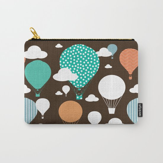 Hot air balloon chocolate Carry-All Pouch