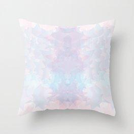 Baesic Pastel Stars Geo Throw Pillow