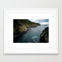 big sur Framed Art Prints featuring Big Sur by Loaded Light Photography