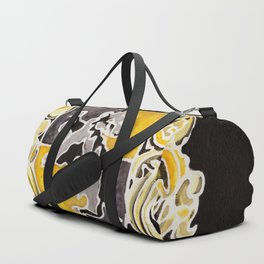 Hufflepuff Crest Duffle Bag