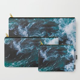 Ocean Waves Photography Carry-All Pouch