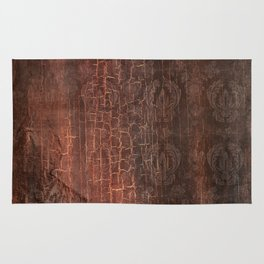 409 Aged Leather Rug