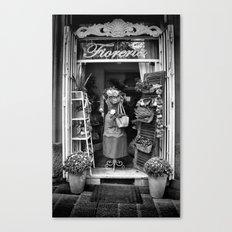The Florist Shop Canvas Print