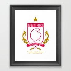 First Star Framed Art Print