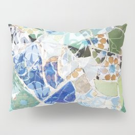 Mosaic of Barcelona VII Pillow Sham