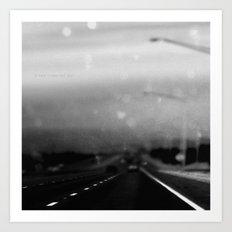 200 More Miles Art Print