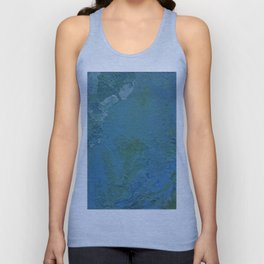 Blue and Green Vibes Unisex Tank Top