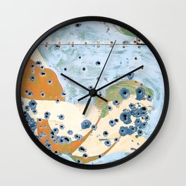 Chico's Hot Springs Vintage Sign Wall Clock