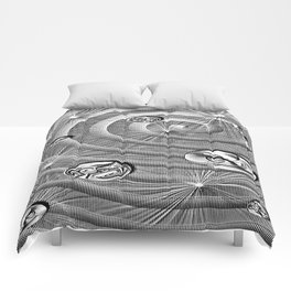 Silver Chips Comforters