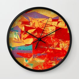 Herd Mesozoic Wall Clock
