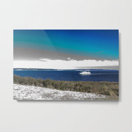 Surrealistic Ferry (Ferry Dreams) Metal Print