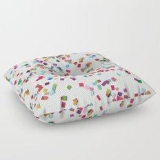 Confetti by Robayre Floor Pillow