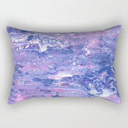 Purple Planet Rectangular Pillow
