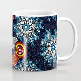 Aboriginal Art Authentic - The Journey Coffee Mug