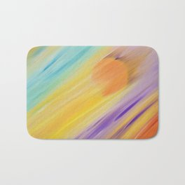 """Catch the Sun #1 – Sequel #1"" Oil Painting Bath Mat"