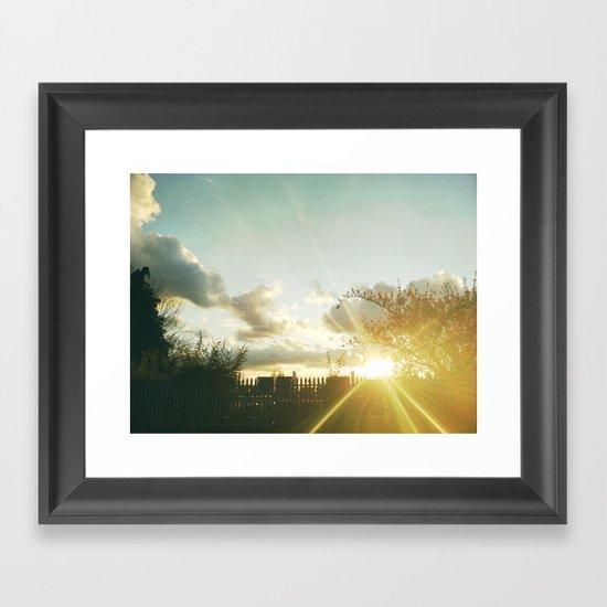 Sunset II Framed Art Print