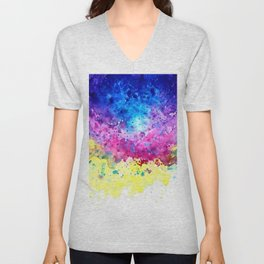 Splatter Unisex V-Neck