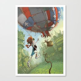 Dorothy Of Oz Canvas Print