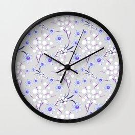 Nice flowers.2 Wall Clock