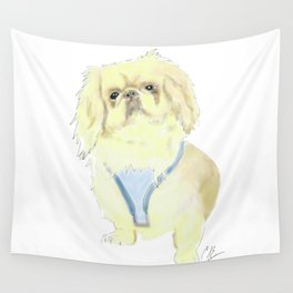 Augie Dogie Wall Tapestry