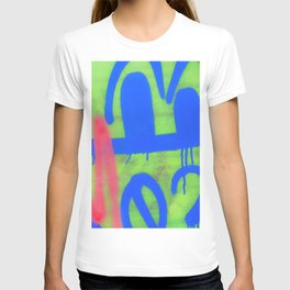 Downtown LA Graffiti - Street Art T-shirt