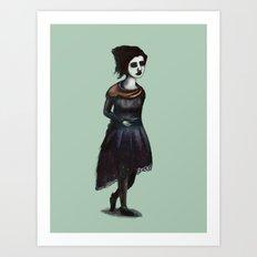 French Girl IV Art Print