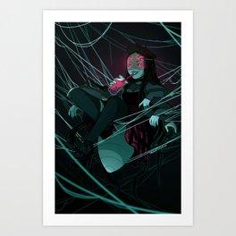 Spider GF Art Print