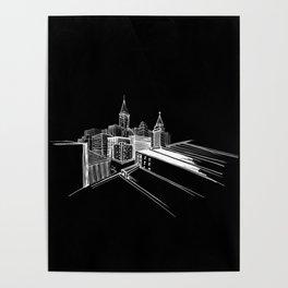 Vibrant city 7 Poster