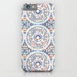 Abstract memories mandala  iPhone Case