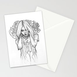 GOING TO HELL Stationery Cards