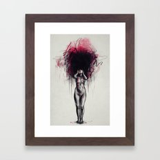 Who I wanna be Framed Art Print