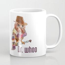 Dr. Who Owl Coffee Mug