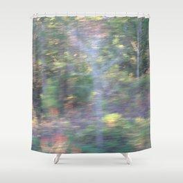 Natural Blur Shower Curtain